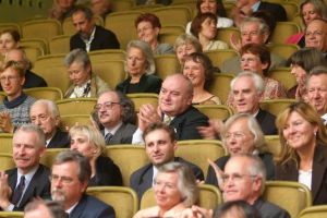 Audience at the Laureates' Concert. Photo by M. Szwed.